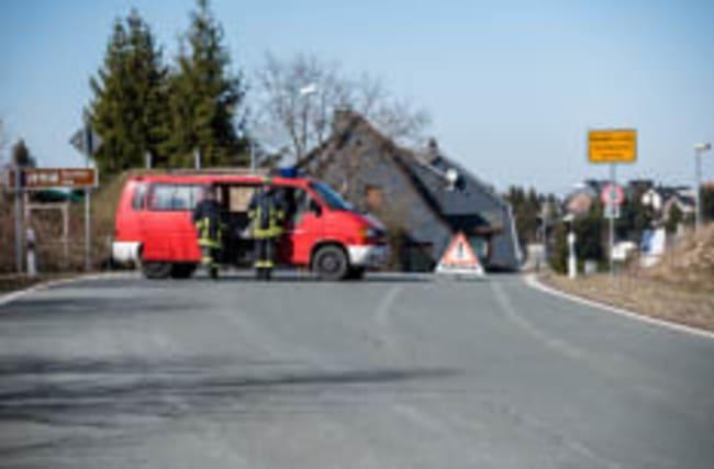 Straßenpartys im Quarantäne-Dorf