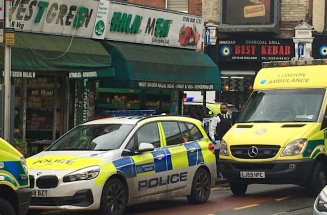 Three injured in stabbing incident at butcher's shop