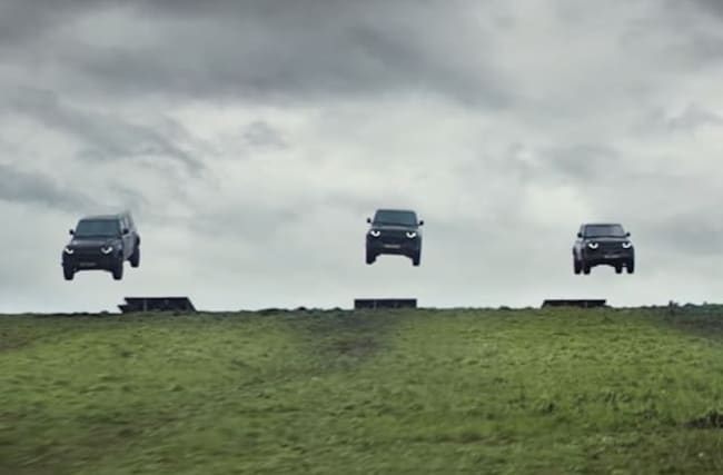 New Land Rover takes beating in James Bond-themed ad