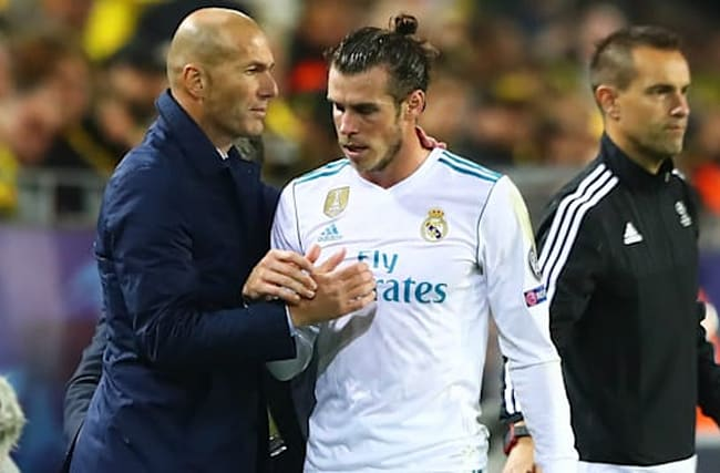 Zidane hits back at claims he disrespected Bale