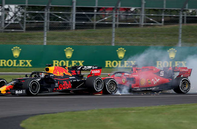 Vettel admits fault for Verstappen collision