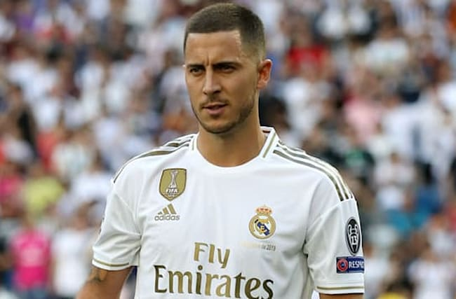 Hazard: You must always win trophies at Real Madrid