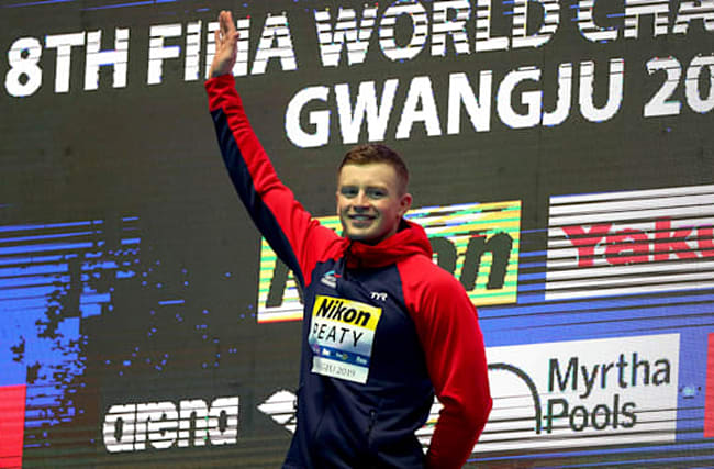 Peaty, Dressel add more golds, Horton warned for Sun protest