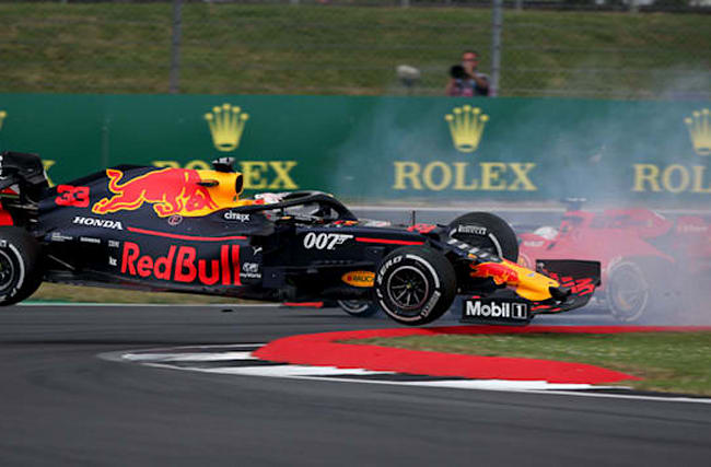 I don't know how I finished, says Verstappen after Vettel crash