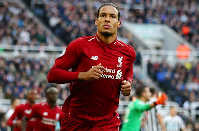 Liverpool star Van Dijk dreams of Ballon d'Or victory
