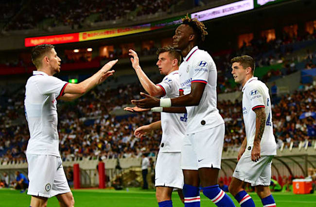 Barcelona 1-2 Chelsea: Abraham and Barkley strike on Griezmann's debut