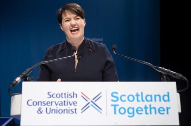 Ruth Davidson says Scots will judge new PM Boris Johnson on his actions
