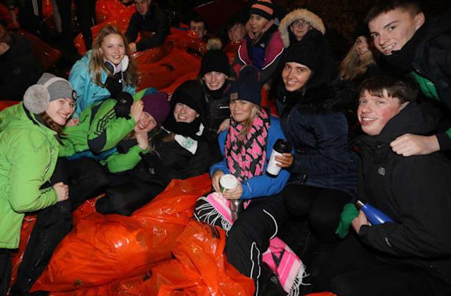 Global sleep-out shines spotlight on homelessness