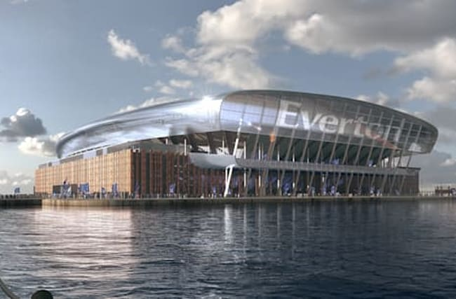 Everton announce planning application date for new stadium