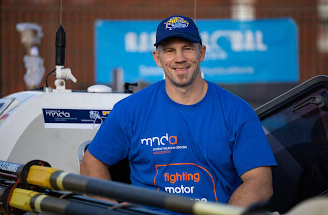 Former rugby league player Craig Forsyth continues 'testing' row across Atlantic