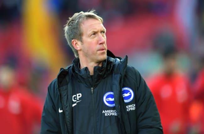 Brighton boss Graham Potter ready for 'hostile atmosphere' at Selhurst Park