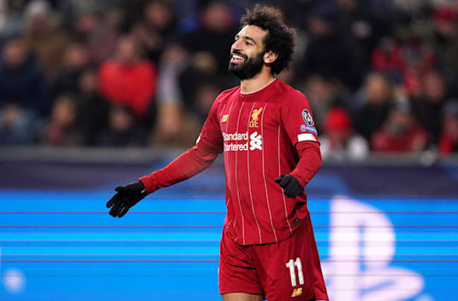 Salah strikes to help Liverpool reach the last 16 of Champions League