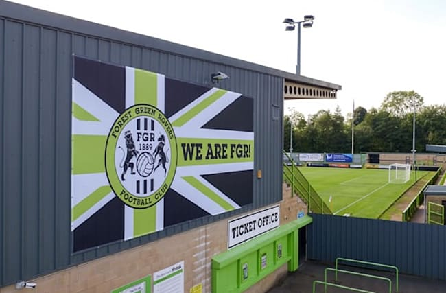 Forest Green fan faces lifetime ban after racist abuse delays Scunthorpe game
