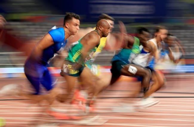 What impact is the coronavirus making in British and world athletics?