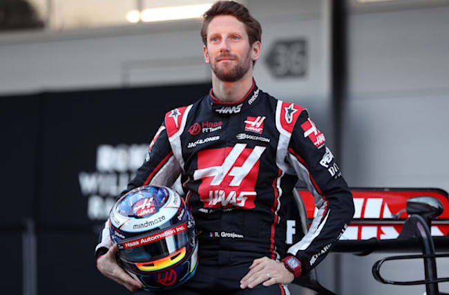 Romain Grosjean's hand dressings removed six weeks after fireball crash