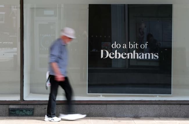 Sports Direct backs down on Debenhams CVA but still funding challenge