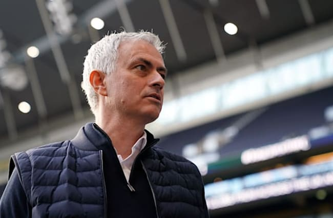 Mourinho wants Tottenham players to be 'raging, not sad' after a defeat
