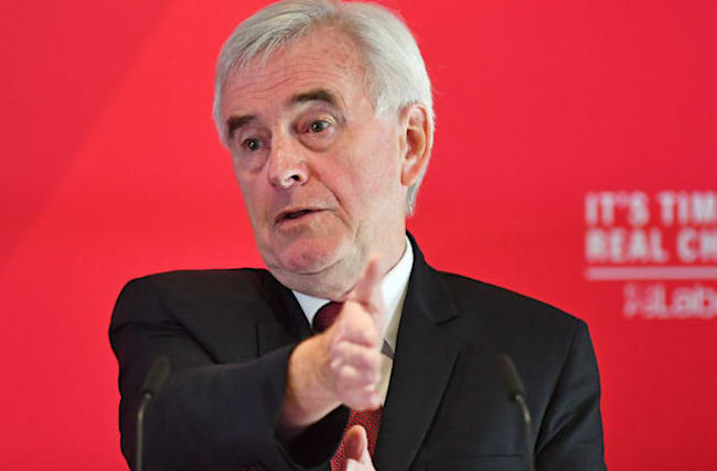 McDonnell underlines 'no pacts' with SNP