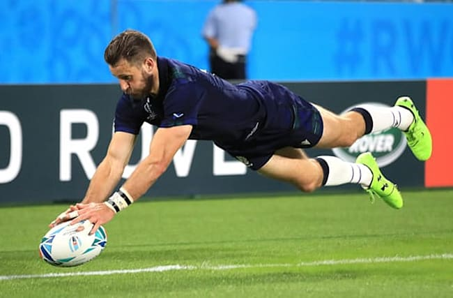 Scotland's Tommy Seymour joins John Barclay in retiring from international rugby