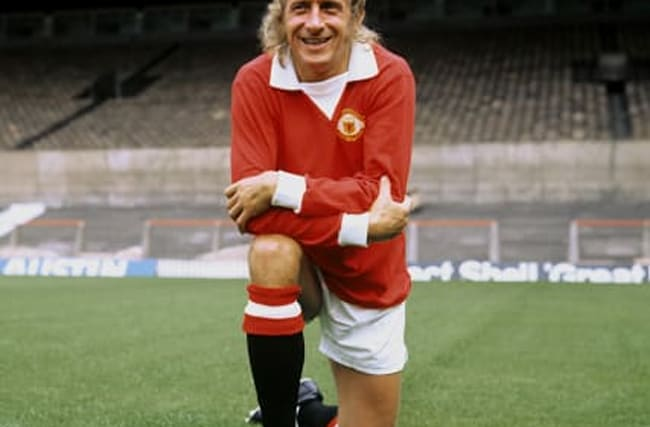 Denis Law's career in pictures