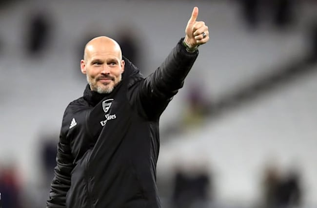 Ljungberg relieved after much-changed Arsenal side clinch top spot in Group F
