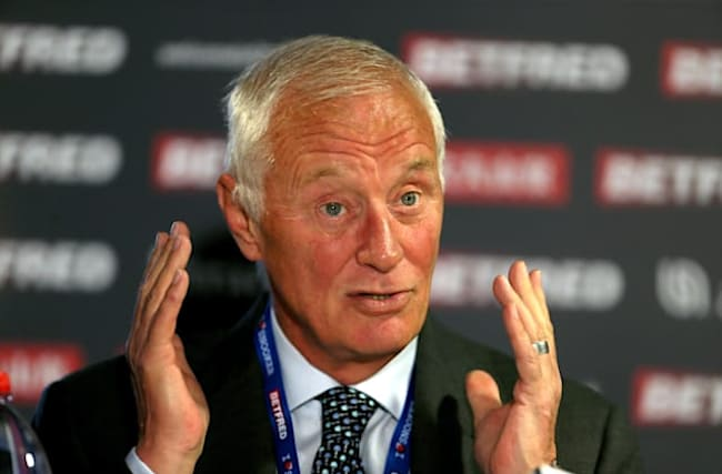 Barry Hearn pays tribute to NHS as he returns home following minor heart attack
