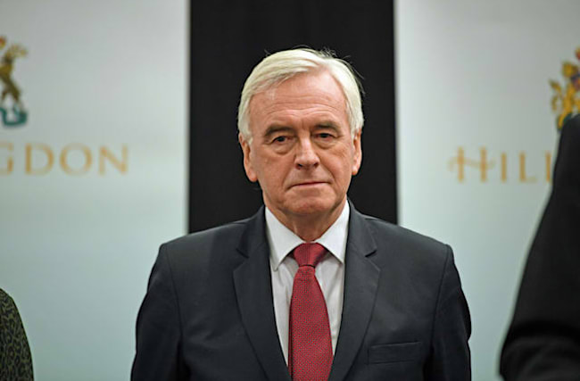 John McDonnell to quit frontline politics following Labour defeat