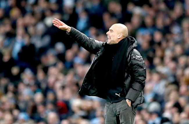 Manchester City are victims of own success this season – Pep Guardiola