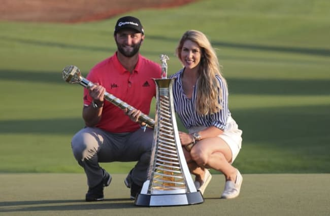 Jon Rahm admits his Race to Dubai win has yet to sink in