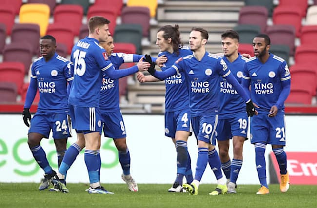 Leicester come from behind to knock Brentford out of FA Cup