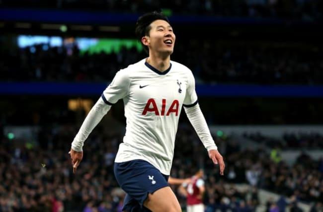 Son scores wonder goal and Kane bags a double as Tottenham thrash Burnley