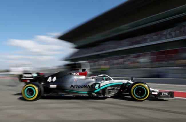 Hamilton setback as world champion's Mercedes breaks down in testing