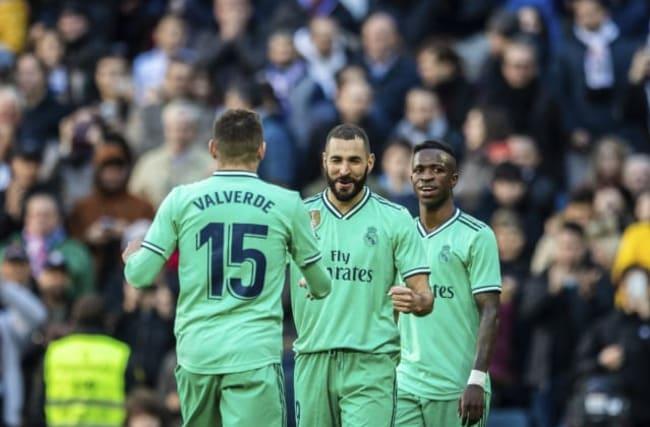 Raphael Varane and Karim Benzema goals guide Real Madrid to win over Espanyol
