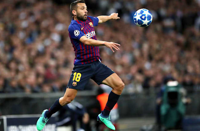 Jordi Alba injury adds to Barcelona's worries