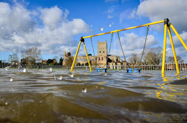 'Not good news' for flooded communities as Storm Jorge looms