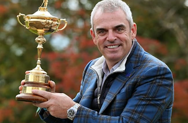 Ryder Cup-winning captain Paul McGinley would've liked to lead Europe in America