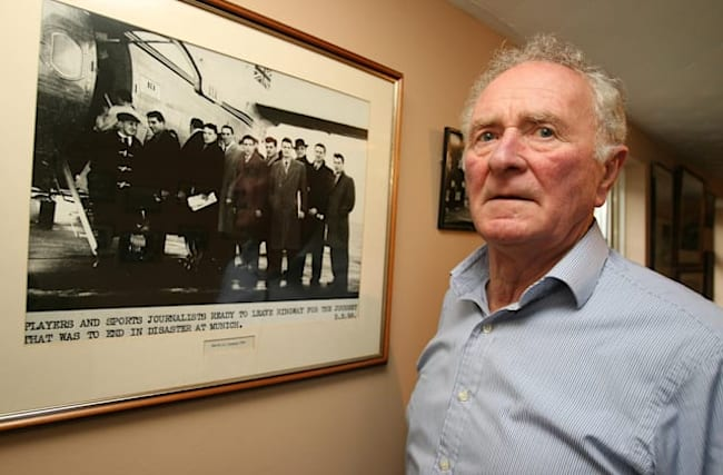 'Another Busby Babe, never to be forgotten' – tributes pour in for Harry Gregg