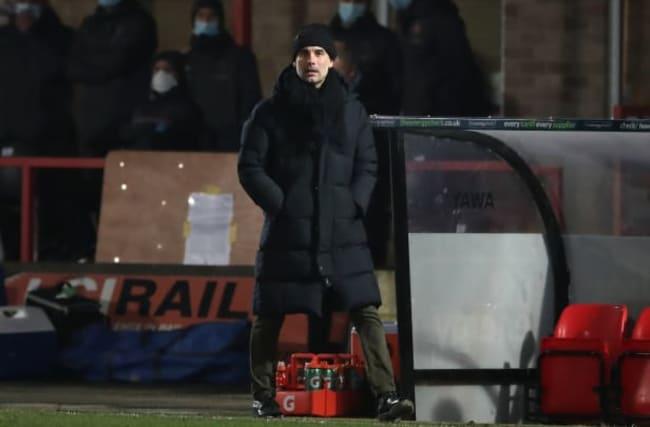 Pep Guardiola hails Man City response after Cheltenham threatened huge cup shock