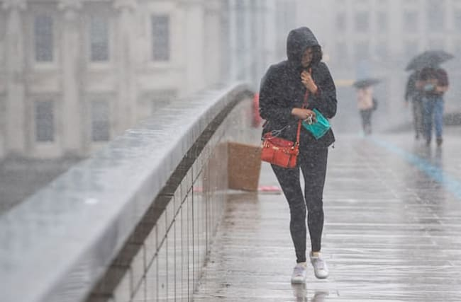 Showers to dampen pub-goers on Saturday as wind and rain hits England