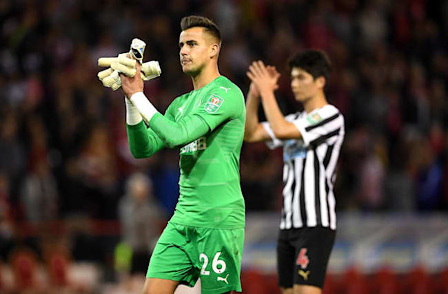 Darlow wants Newcastle to develop ruthless streak after cup draw against Oxford