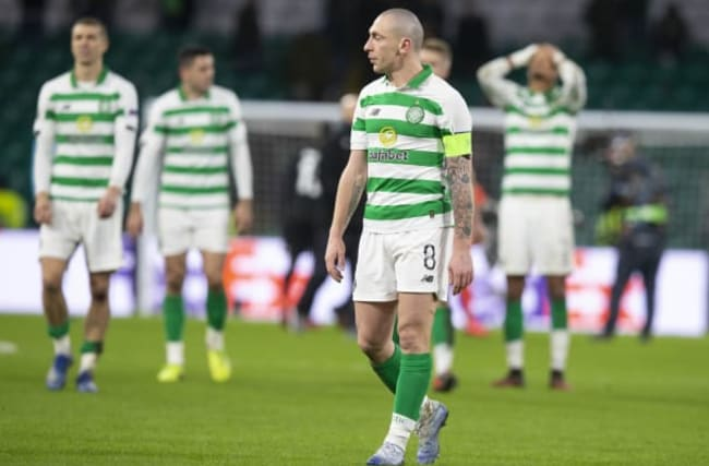Celtic knocked out of Europa League by FC Copenhagen following late goals