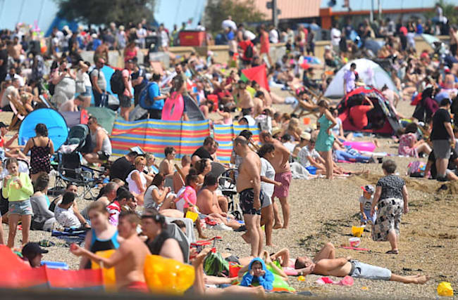 Temperatures set to soar by the weekend after a mixed spell of weather