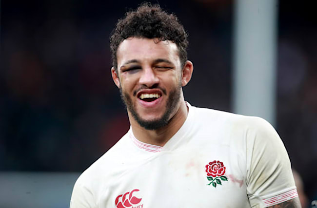 Ankle jab made 'big difference' against Ireland, says England's Courtney Lawes