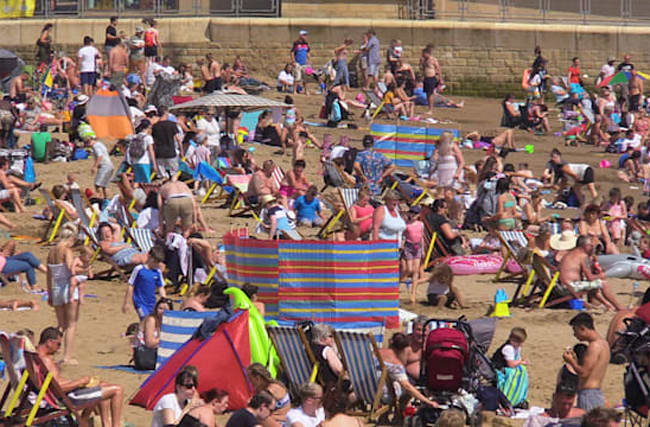 Saturday scorcher as summer heatwave continues