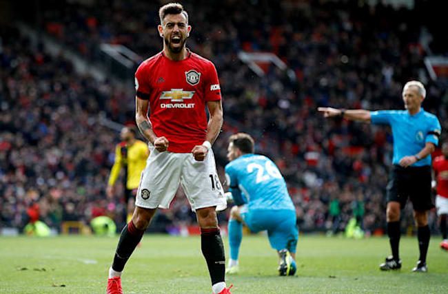 Fernandes earns Solskjaer praise after another strong Manchester United display