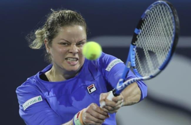 Clijsters had 'good feeling' in WTA comeback defeat to Muguruza in Dubai