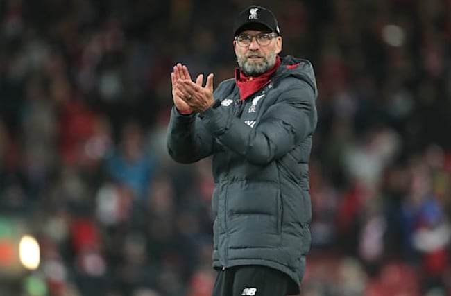 Jurgen Klopp pays testament to strength of Liverpool squad
