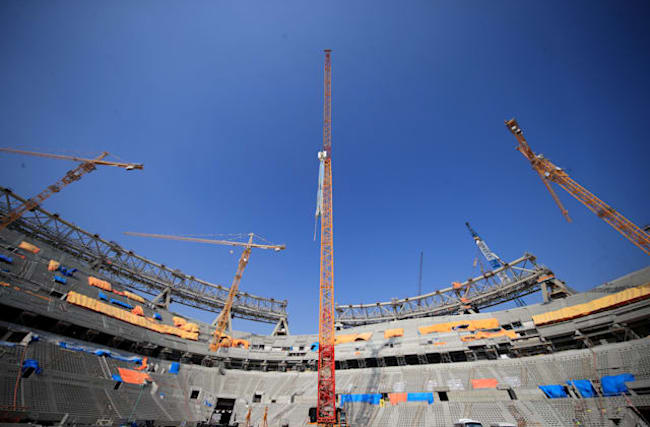 Claims are unlikely to stop Qatar hosting World Cup, says anti-corruption expert