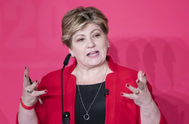 Thornberry defiant on Labour leadership hopes as GMB meets to decide nomination