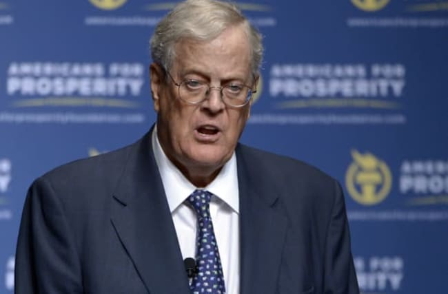 US conservative donor and businessman David Koch dies aged 79